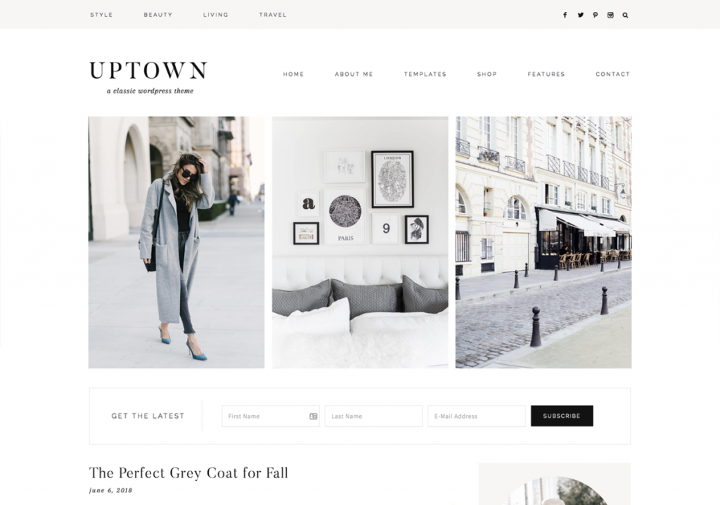Wordpress Theme 17th Avenue