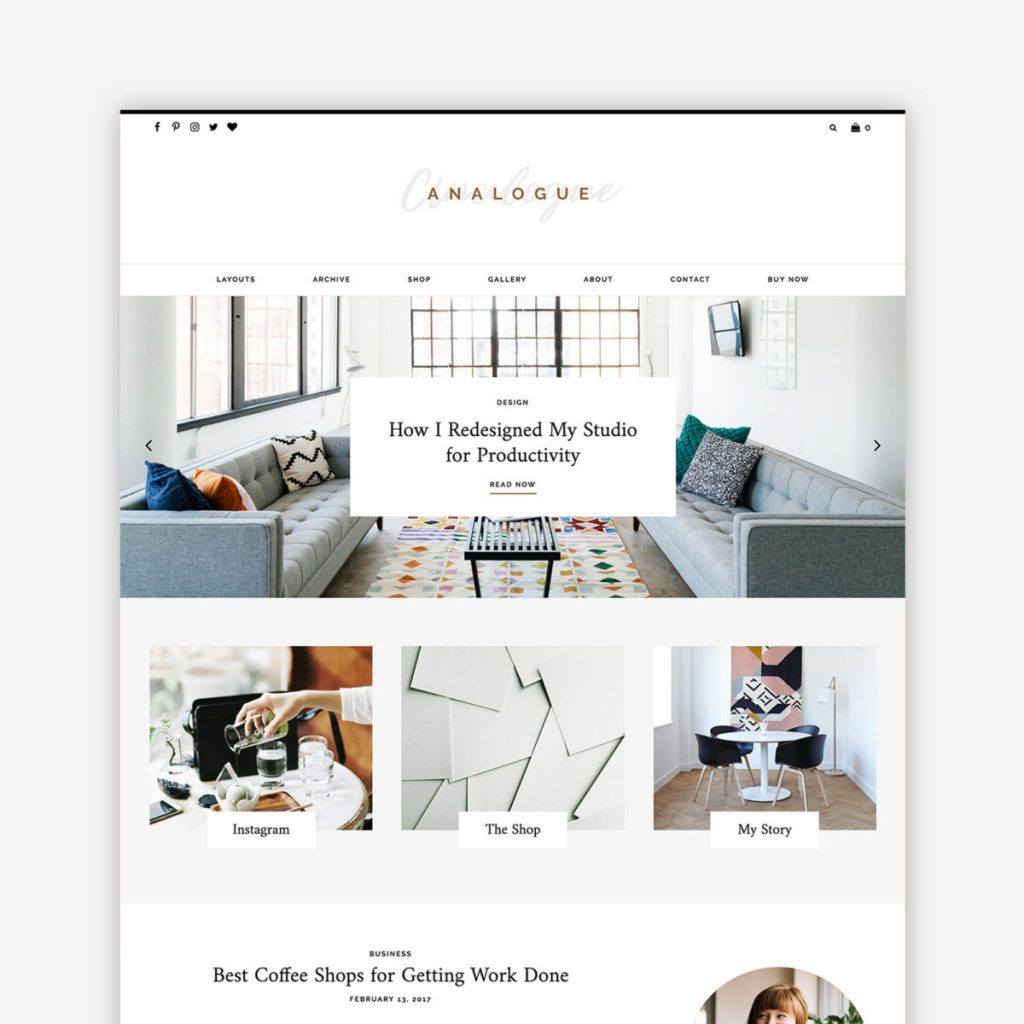 Station Seven WordPress Theme