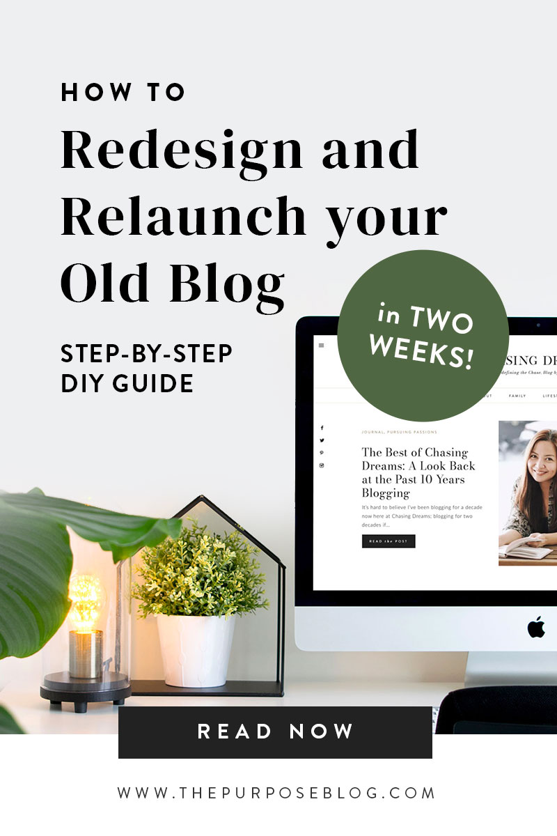 DIY Redesign and Relaunch Your Blog