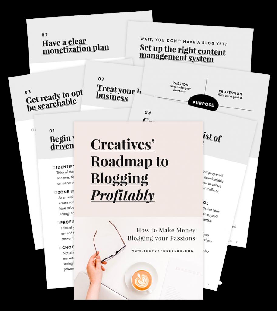 Creatives' Roadmap to Blogging Profitably